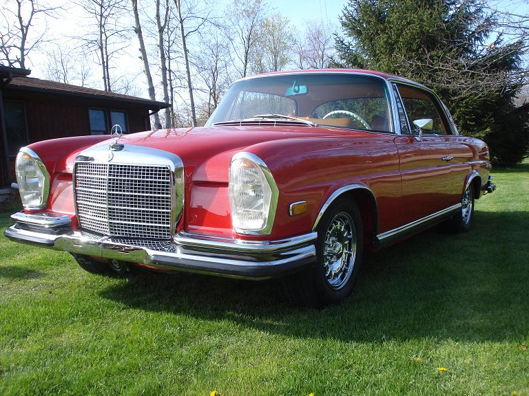 1971 Mercedes-Benz 280 SE 3.5 Sunroon Coupe
